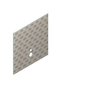 Lux elements Toiletplaat TEC-VWD-P 1250x1200x20mm