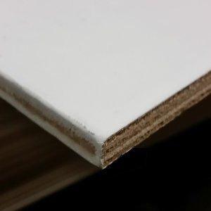 Okoume multiplex wit gegrond 10mm 250x122cm WBP B/BB