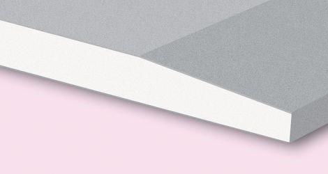 Wandplaten gips afgeschuinde kant 2-zijdig ak
