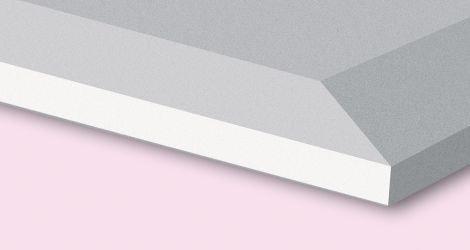 Gips wandplaten afgeschuinde kant 4-zijdig ak