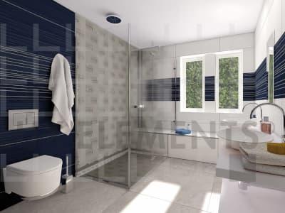 Hardschuim draagelementen toegepast in badkamer